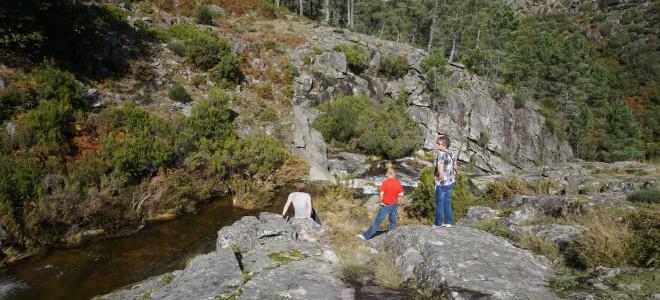 Watervallen van de Tâmega