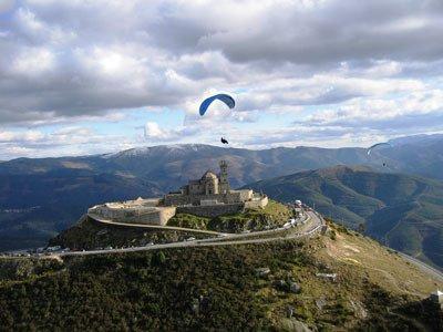 Parapente, Basto Paragliding vanaf de Senora de Graca