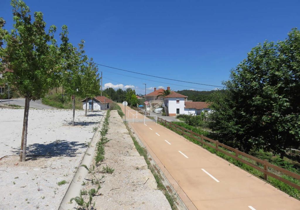 Ecopista do Tamega, een oude spoorlijn getransformeerd in een fietspad.