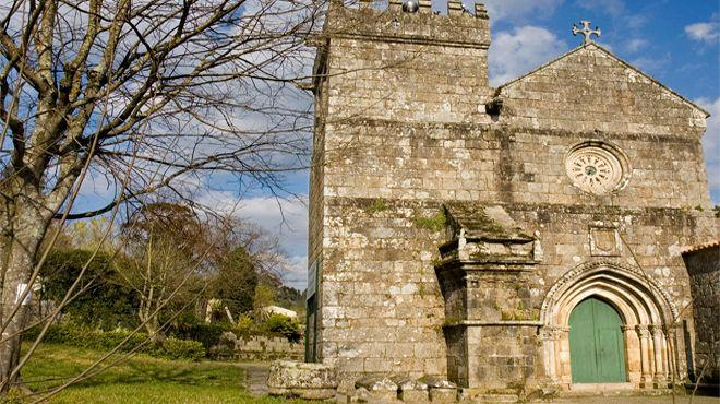 Het klooster van Cete, een van de oudste tempels van Portugal, Senhora do Salto.