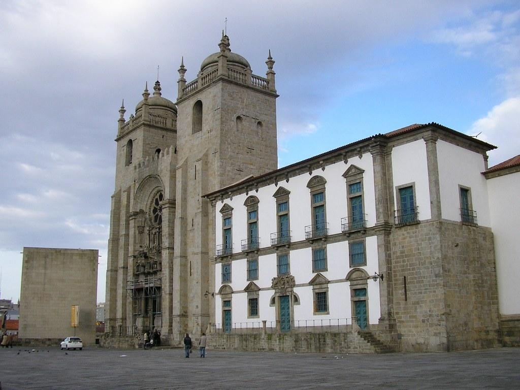 Kathedraal van de stad Porto, de Sé