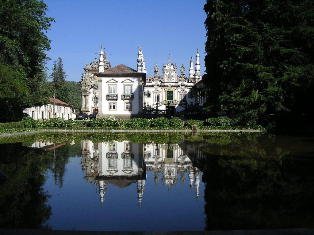 Palácio de Mateus, in de gemeente Vila Real