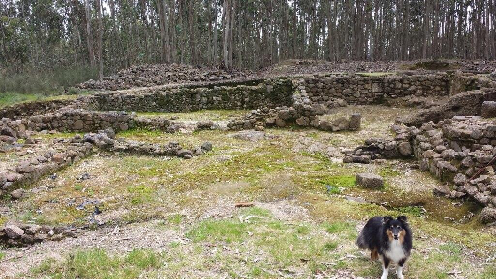 Hill Fort Penafiel - Een gedeelte naast het centrum van de vesting